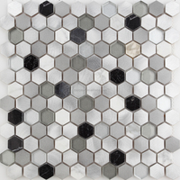 Best selling mixed material home decoration mosaic and metal mosaic tiles