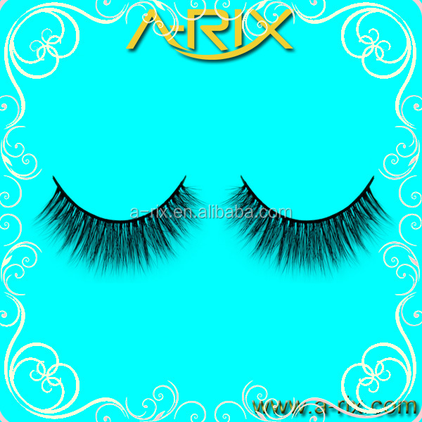 3D synthetic strip false eyelashes,PVC packages high quality,2016 new fashion style