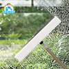 Hot selling rubber sponge flexibly rotating glass window cleaning wiper/squeegee