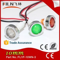Factory sell non-polarity Rohs waterproof led 12v fishing signal light with wire