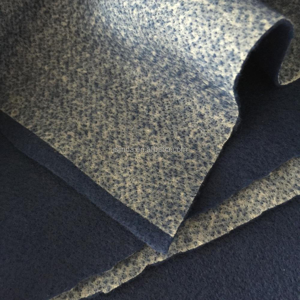 Recycled industry industrial synthetic needled felt