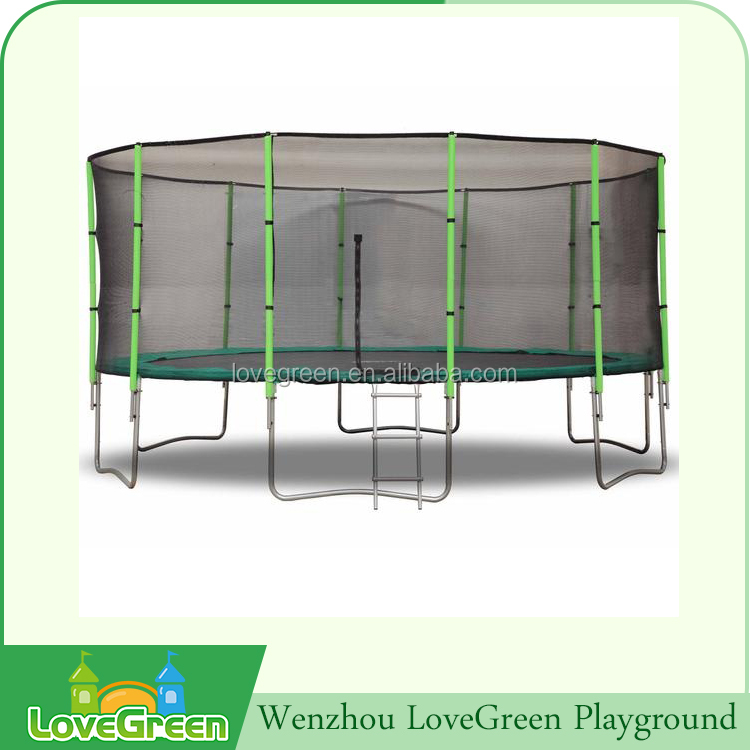 Best quality kids indoor rectangle 18ft trampoline tent