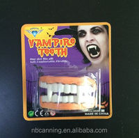 Halloween accessory/scary Halloween fake teeth/ party accessory false teeth