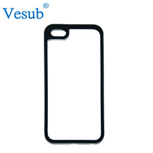 Factory Wholesale Popular 5 Inch White Plastic 2D Sublimation Blank Mobile Phone Case for iPhone 6s Plus