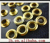 6,28mm fashion gold oval/triangle decorative bulk big metal plating engraved silver colored 10mm brass eyelets grommet wholesale