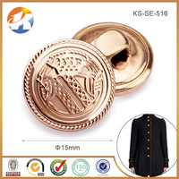 News Rose Gold metal sewing buttons