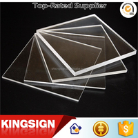 wholesale clear / transparent large thick cast acrylic sheet for aquarium