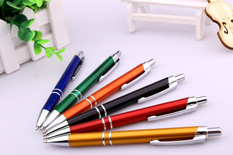Alibaba hotselling advertise popular promotional heave metal pen for customized logo