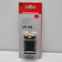 Original LP-E6 Battery for Canon EOS 5D 6D 7D 60D 60Da Mark II III Grip Camera 1800mAh Battery