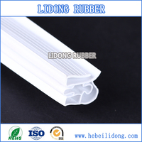 Magnetic sealing strip for PVC sterilizing cabinet