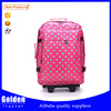 2015 new products China wholesale travel trolley bag girls and boys travelling luggage bags for fashion designers