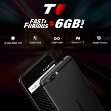 Global Version Mobile Phone Ulefone T1 6GB+64GB 5.5 inch 4G Smartphone Android 7.0 Cell Phone 3 Cameres Front Fingerprint 8-Core