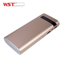 WST custom New year gift Dual USB output portable rechargeable hand warmer and power bank