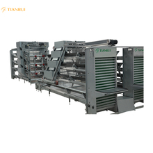Chicken Cages Manufacturers Sale H-type Automatic Chicken Battery Breeding Cage
