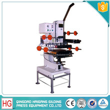 CE certificate Manual Control Hot Foil Stamping Fishing Lure Machine