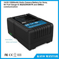 14.8v lithium battery pack 4S2P lipo battery pack for sony digital video camera