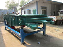 Linear type Vibrating screen use for fertilizer bead