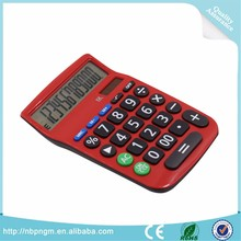 12 digits office calcualtor back space function calculator plastic key calculator