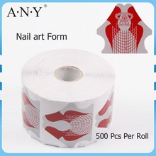 ANY 2015 Extension Manufactuer Acrylic Paper Full Cover Nail Form Holder