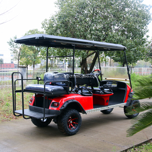 Electric 6 Seats Hunting Golf Cart for Sale, New Features