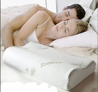 YS-201good quality bamboo charcoal memory foam pillow