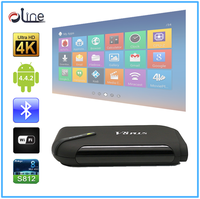 High quality S812 Quad core CPU iptv box indian channels v8 plus android tv box