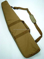 Drop Shipping 100CM Khaki Heavy Duty Tactical Gun Slip Bevel Carry Bag Rifle Case Shoulder Backup Pouch
