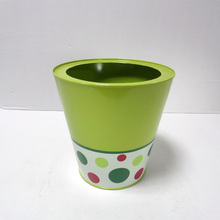 Wholesale Garden Decoration Green Cheap Flower Pot