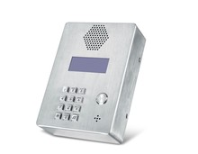 Factory price one touch key two line phone for emergency call with speaker phone KNZD-03LCD