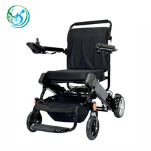Light foldable small electric wheelchair