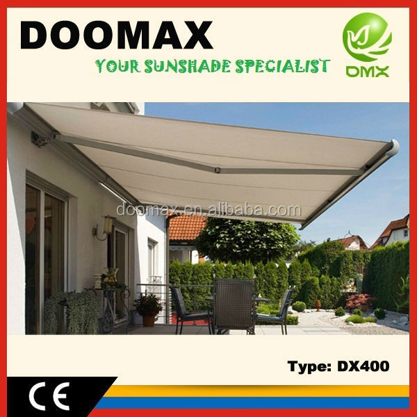 Retractable UV Protect Sun Canopies Awnings for Houses