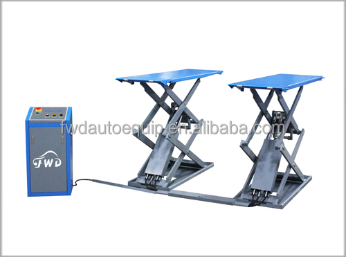 3 ton hydraulic double scissor lift table for tyres service