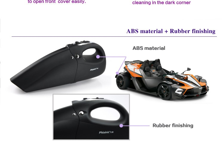 rechargeable handheld vacuum cleaner for home cleaning , Cordless handy vacuum cleaner to easy clean panel