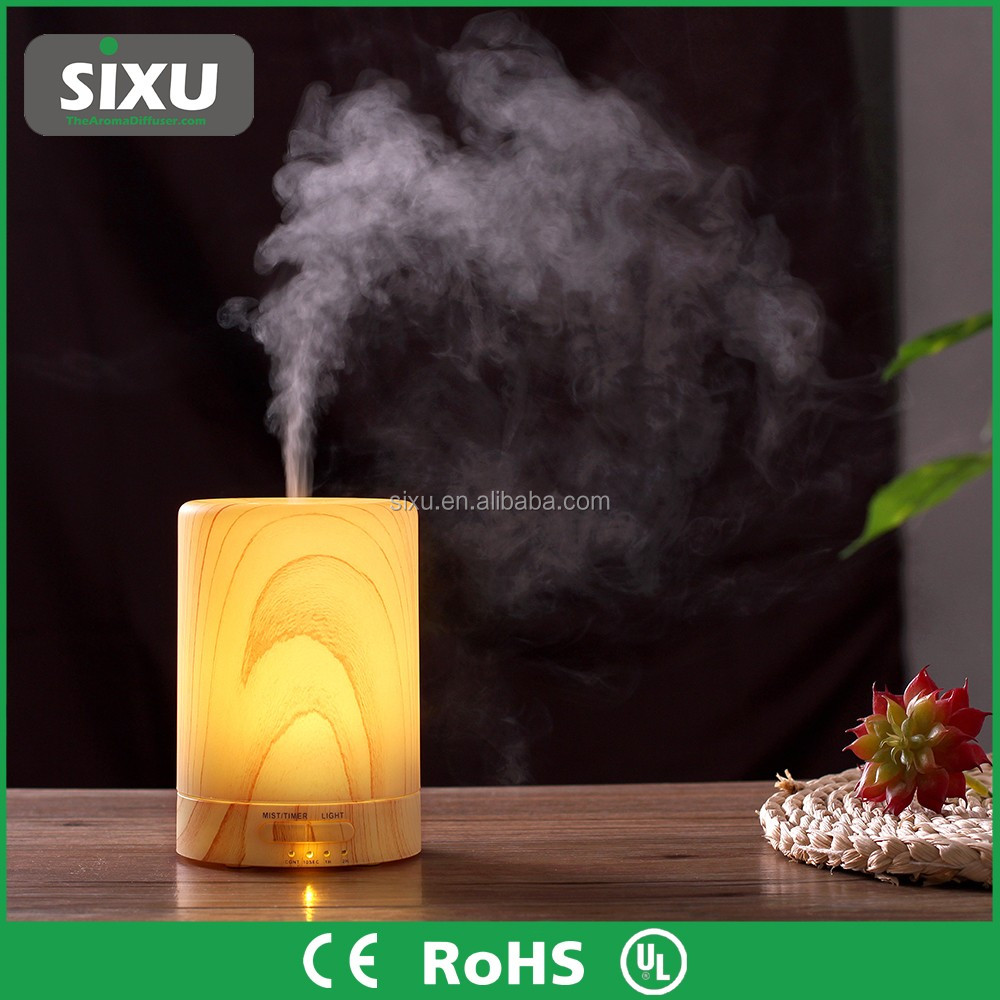 Plastic ultrasonic oil and water mist diffuse nebulization aroma diffuser