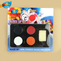 Halloween face paint set make up set