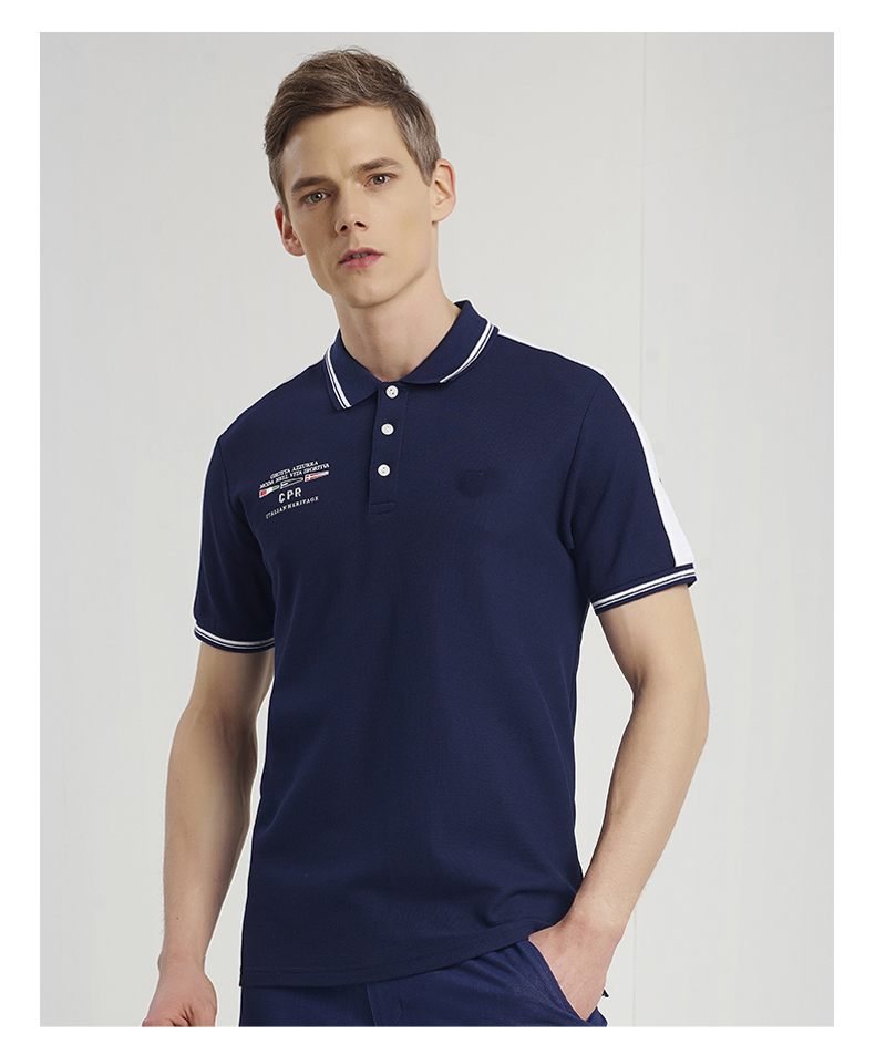 Short Sleeve Style Polo T-shirts 100% Cotton Material Custom Men Polo Shirts High Quality Mens Polo T Shirt Manufacturing