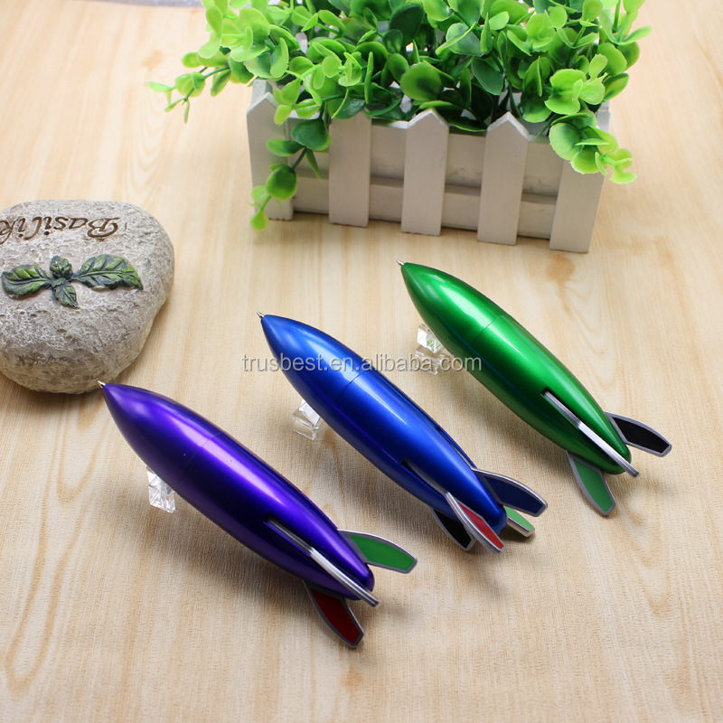 promotional multicolor rocket pen , 4 color pen