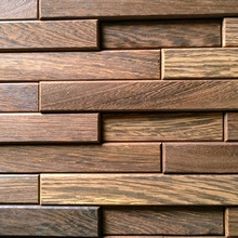 Eco-friend Natural SOLID WOOD WALL PANEL 12mm in thickness