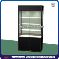 TSD-W437 factory Custom made luxury jewelry store showcase,glass jewelry display cabinet,wooden jewelry display stand