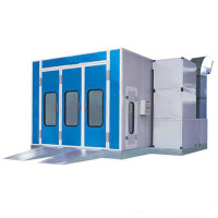 Cheap price but high quality car paint spary booth /Auto spray and baking booth,JD-A2