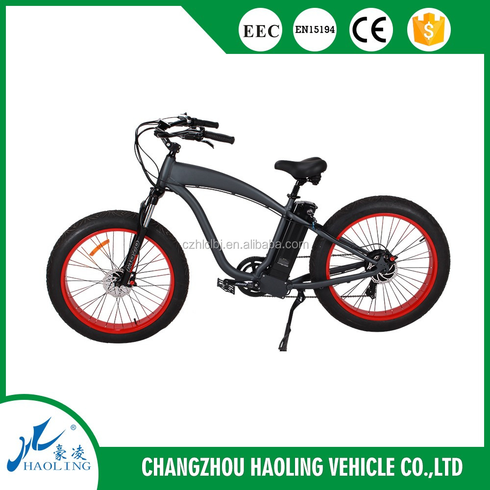 emotion fat bike 26 inch electric chopper bike for adults with 500W motor
