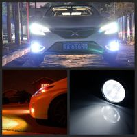 Led Fog Lamps Angel Eyes Color Lights Body Kits For Land Cruiser Crv Suzuki Swift Japanese Accessories Guangzhou Cars Auto Parts