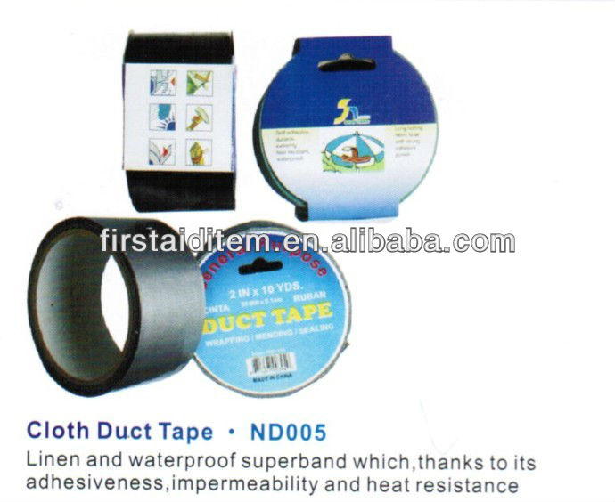 Waterproof rubber color decorative duct tape