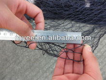 supply strong golden nylon net double knot / redes de pesca de nylon del multifilamento