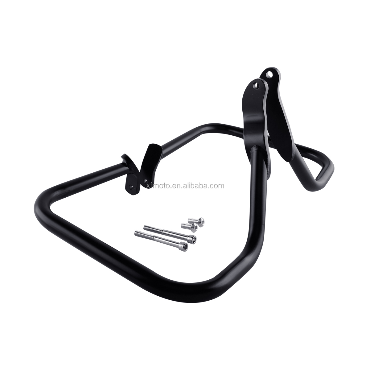 TCMT XF2906B10-B Black Engine Guard Crash Bar For Harley Saddlebag Guard Softail 2000-2008 <strong>01</strong> <strong>02</strong>