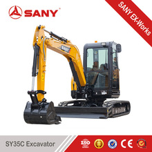 SANY SY35C 3.5t Small Mini Excavator Machines for Mini Digger of Trench Digging Machine