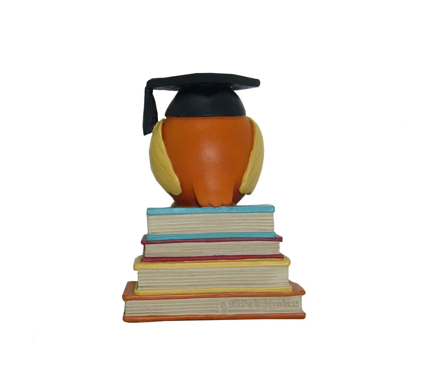 Graduation season graduation souvenir 3d resin figurines bachelor cap with book