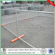 Construction galvanized 6ft temporary fencing panels