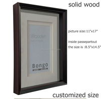 bulk natural solid wood photo picture frame,wall mounted wood picture frame