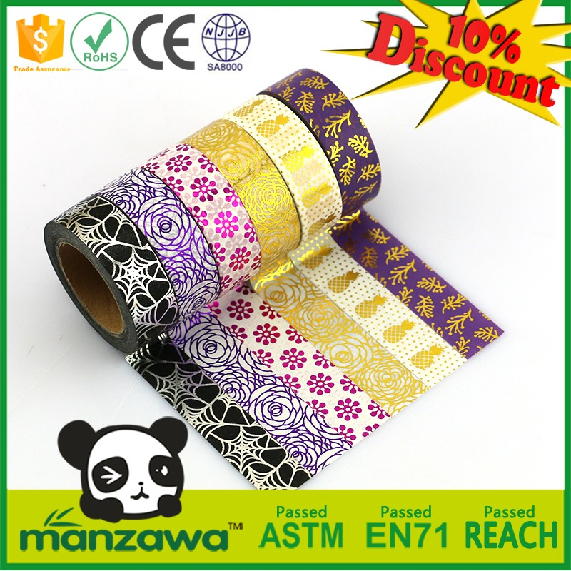 Wholesale promotional products china add sparkle and detail to gift wrapping glitter tape
